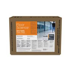 Diversey Floor Science Easy Apply Floor Finish, Ammonia Scent, 5 gal Box