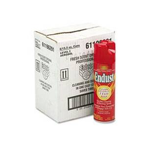 Endust Professional Cleaning and Dusting Spray, 15oz Aerosol, 6/Carton