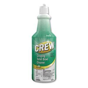 Diversey Crew Clinging Toilet Bowl Cleaner, Fresh Scent, 32 oz Squeeze Bottle, 6/Carton