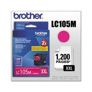 Brother LC105M Innobella Super High-Yield Ink, Magenta