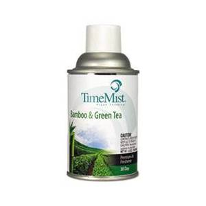 TimeMist Metered Aerosol Fragrance Dispenser Refill, Bamboo/Green Tea,6.6oz Aerosol,12/CT