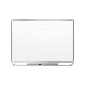 Quartet Prestige 2 Magnetic Total Erase Whiteboard, 96 x 48, Aluminum Frame