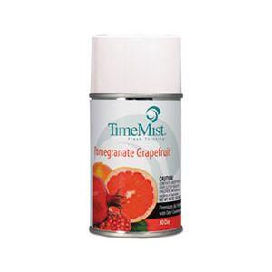 TimeMist Metered Aerosol Fragrance Refill, Pomegranate Grapefruit, 6.6 oz Aerosol, 12/CT