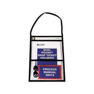 """C-Line Shop Ticket Holders with Strap, Stitched, 150"""", 9 x 12, 15/BX"""