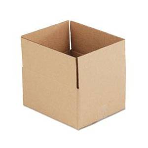 General Supply Brown Corrugated - Fixed-Depth Shipping Boxes, 12l x 10w x 6h, 25/Bundle