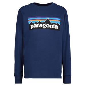 Patagonia kids long-sleeve  for boys' L/S Graphic Organic  for...