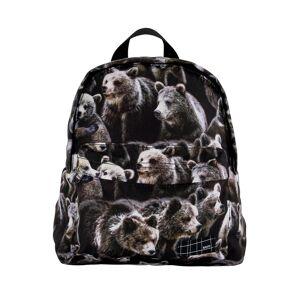 Molo kids backpack for boys, black,  30 x 25 x 11 cm