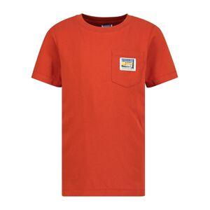 SCOTCH & SODA  kids t-shirt for boys, orange,  10 years (140 cm)