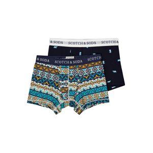SCOTCH & SODA  kids  Boxer Shorts  for boys, blue,  10 years (140 cm)