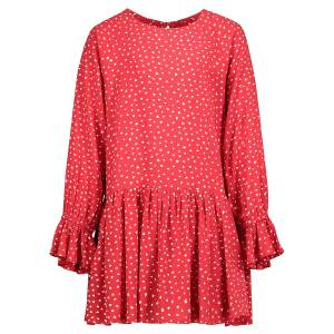Pepe Jeans  kids dress CATY for girls, red,  10 years (140 cm)