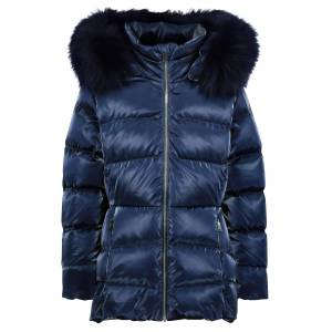 add kids  Down Jacket  for girls, blue,  10 years (140 cm)