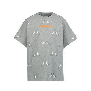 Burberry kids t-shirt for girls, grey,  10 years (140 cm)