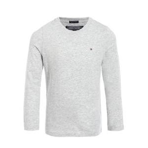 Tommy Hilfiger  kids long-sleeve for boys, grey,  10 years (140 cm)