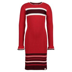 LOOXS Revolution  kids dress for girls, red,  10 years (140 cm)