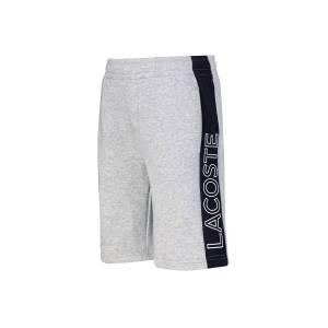 Lacoste kids shorts for boys, grey,  10 years (140 cm)