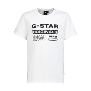 G-Star RAW  kids t-shirt for boys, white,  10 years (140 cm)