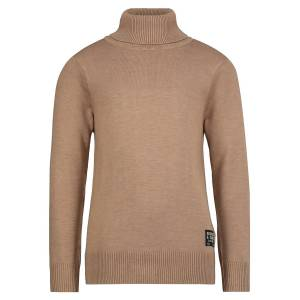 SCOTCH & SODA  kids pullover for boys, brown,  10 years (140 cm)