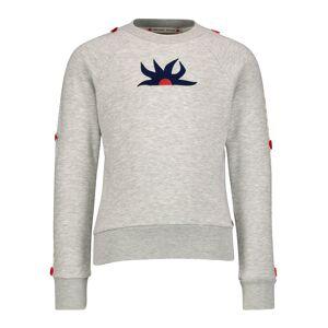 SCOTCH & SODA  kids Sweatshirt for girls, grey,  10 years (140 cm)