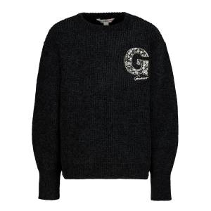 Guess kids pullover for girls, black,  10 years (140 cm)