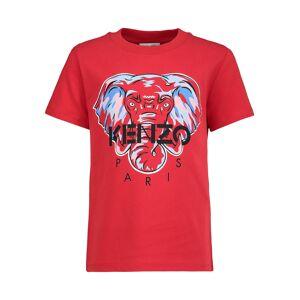 Kenzo kids t-shirt KASIMIR for boys, red,  10 years (140 cm)