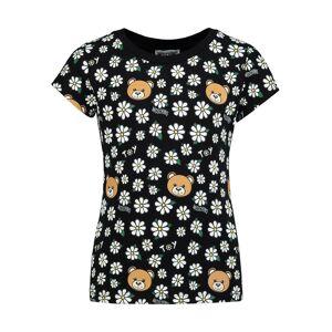 Moschino kids t-shirt for girls, black,  12 years (152 cm)