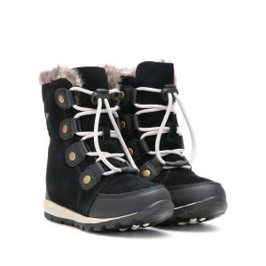 Sorel kids boots  YOUTH WHITNEY SUEDE  for girls, black, 37