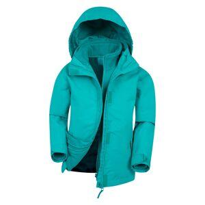 Mountain Warehouse Fell Water-resistant Kids 3 in 1 Jacket - Teal
