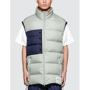 3.1 Phillip Lim Oversized Down Vest  - Grey - Size: Large