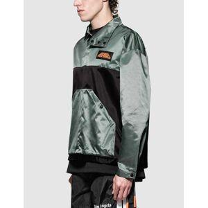 Palm Angels Color Block Sport Jacket  - Grey - Size: Large