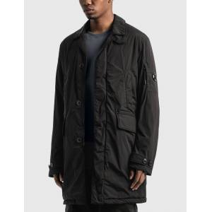 CP Company Nycra R Collared Lens Jacket  - Black - Size: IT 46