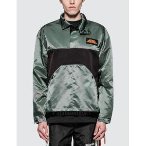 Palm Angels Color Block Sport Jacket  - Grey - Size: Medium