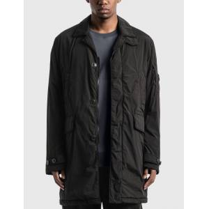 CP Company Nycra R Collared Lens Jacket  - Black - Size: IT 48