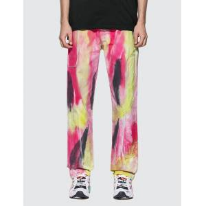 Liam Hodges Spray Dyed 2600 Work Trouser  - Multicolor - Size: Large