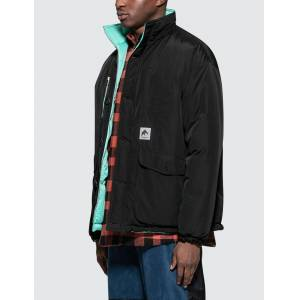 Flagstuff Reversible Puff Jacket  - Black - Size: Small