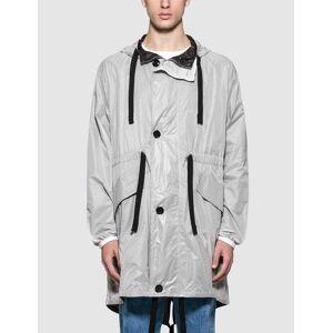 Acne Studios Ola Ny Rip Jacket  - White - Size: 46