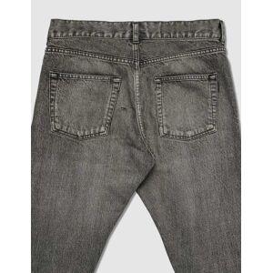 Saint Laurent Distressed Skinny Jeans  - Black - Size: IN 34