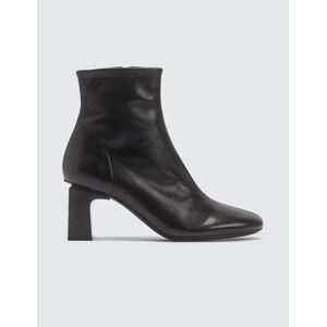 BY FAR Vasi Leather Black Boots  - Black - Size: EU 38