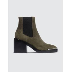 Alexander Wang Hailey Suede Chelsea Boot  - Brown - Size: 35