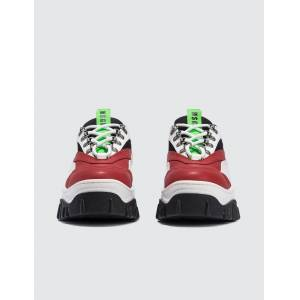 MSGM Chucky Low Top Sneaker  - Multicolor - Size: 40