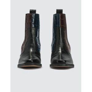 Ganni Western Ankle Boots  - Multicolor - Size: EU 36