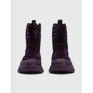 Both Gao High Boots  - Red - Size: 36