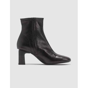 BY FAR Vasi Leather Black Boots  - Black - Size: EU 36