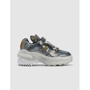 Maison Margiela Retro Fit Low Top Chunky Sneakers  - Silver - Size: EU 40