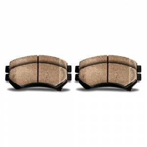 Duralo New 1996 Honda Accord Brake Pads - Front Coupe - Front