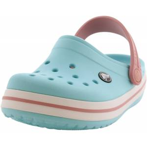 Crocs Crocband Clog Ice Blue / White Clogs - 10M