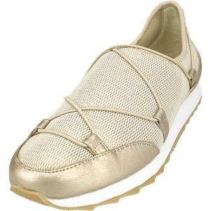 Aerosoles Women's Flashy Gold Combo Ankle-High Slip-On Shoes - 6.5M