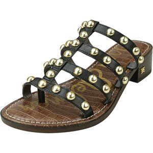 Naturalizer Women's Juniper Leather Black Sandal - 7M