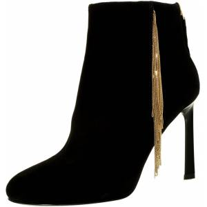 Nine West Women's Uloveit Suede Black Ankle-High Leather Boot - 10M