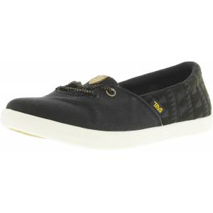 Teva Women's Willow Slip-On Black Ankle-High Canvas Shoes - 5.5M