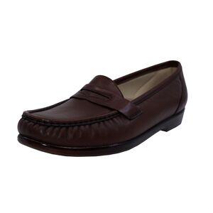 Sas Women's Wink Antique Walnut Leather Loafers & Slip-On - 10.5N